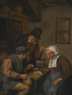 Card-playing Peasants