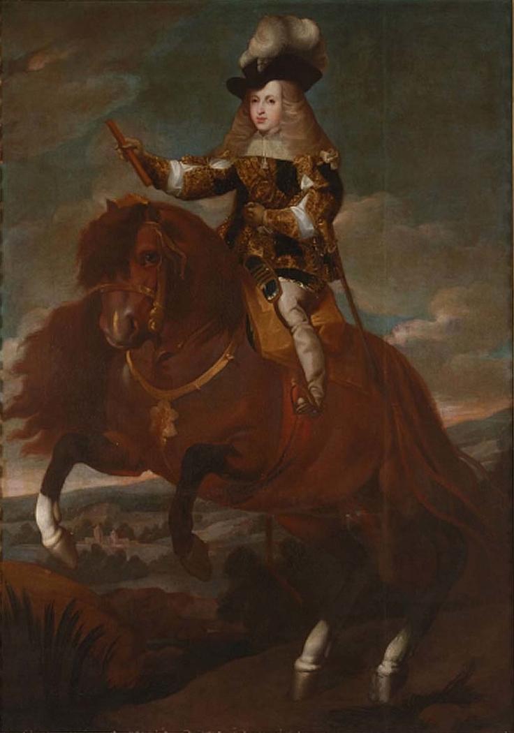 Carlos II ecuestre