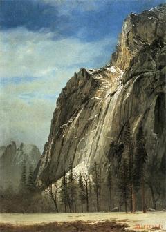 Cathedral Rocks, a Yosemite View