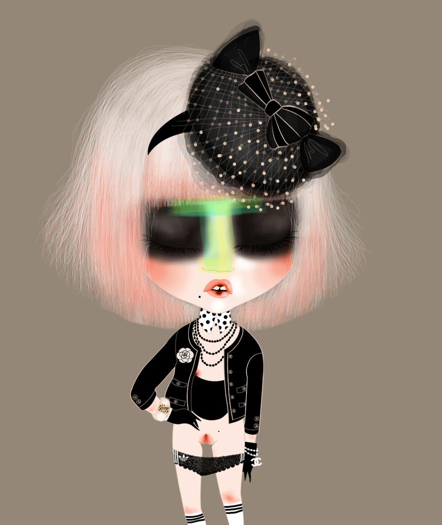 CHANEL little black jacket x adidas