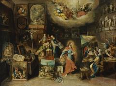 Christ in the Studio (Pictura Sacra)