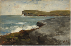 Cliffs and the Sea