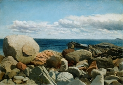 Coastal Rocks, Nahant: A Sketch