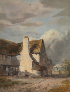 Cottage by a country lane