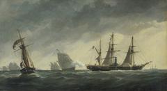 Crimean war: first shot of the war, 6 April 1854