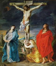 Crucifixion with the Virgin Mary, St John and St Mary Magdalene