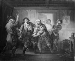 Den elvte Juni, V. akt, 1. scene