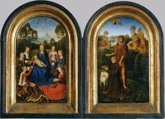 Diptych of Jan du Cellier