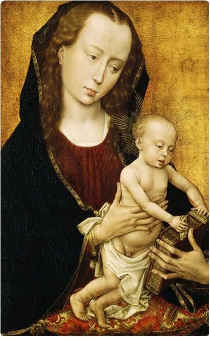 Diptych of Philip de Croy - Virgin and Child