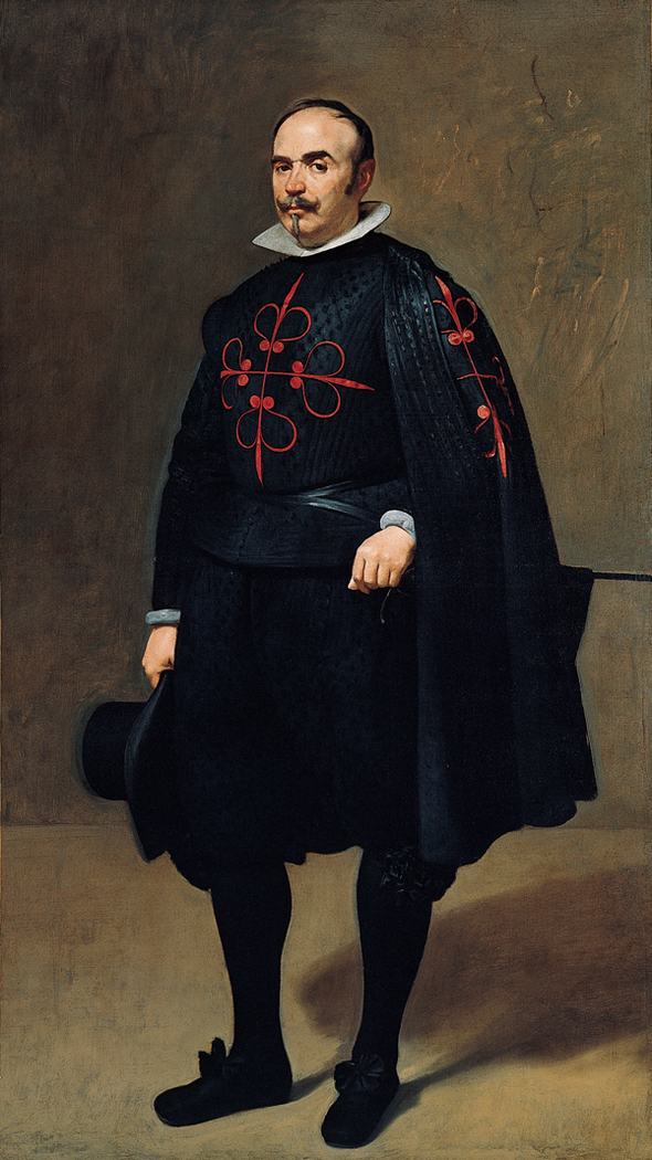 Don Pedro de Barberana y Aparregui, with Calatrava Cross