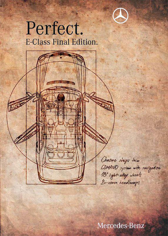 E-class. Perfect.