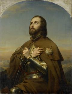 Eberhard (1445-96), Duke of Würtemberg, as a Pilgrim in the Holy Land