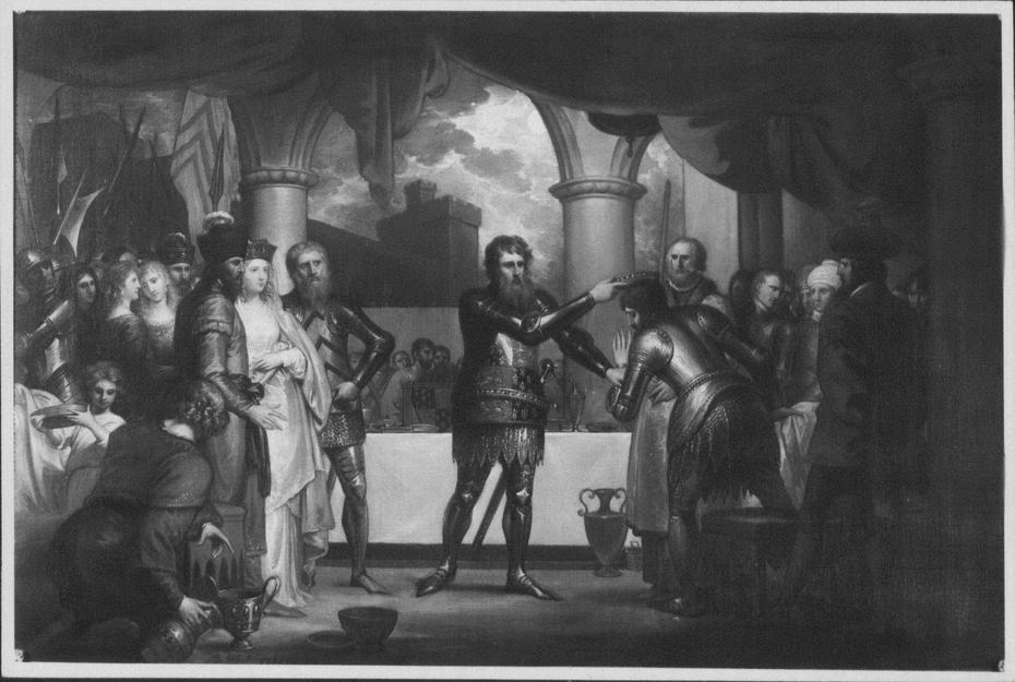 Edward III Entertaining his Prisoners