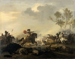 Equestrian Battle (A Cavalry Charge)