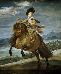 Equestrian Portrait of Prince Balthasar Charles