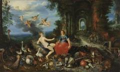 Feuer und Luft und Frans Francken d. J.