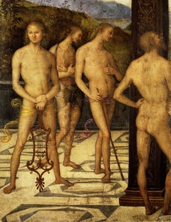 Four Male Figures