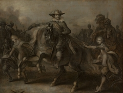 Frederik Hendrik on Horseback, with all his Retinue