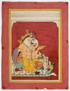 Ganesha and His Wives, Siddhi and Buddhi