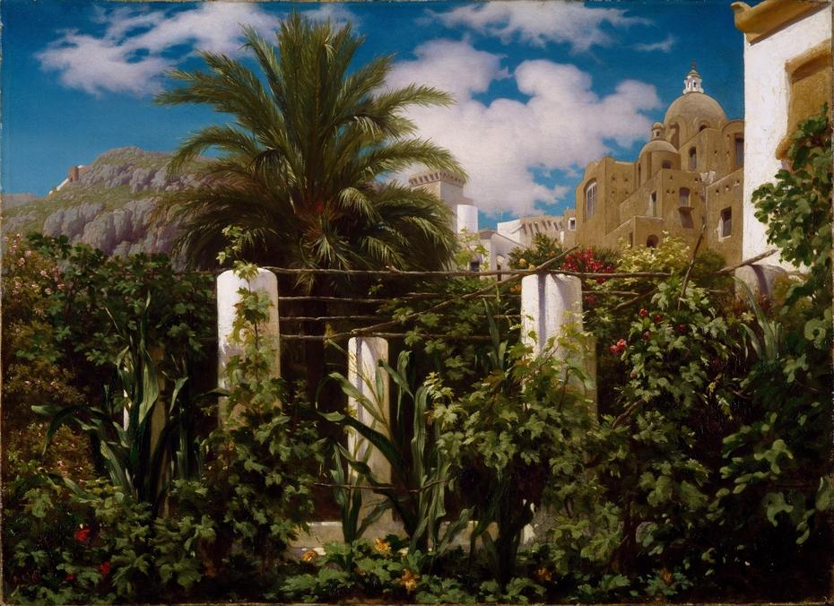 Garden of an Inn, Capri