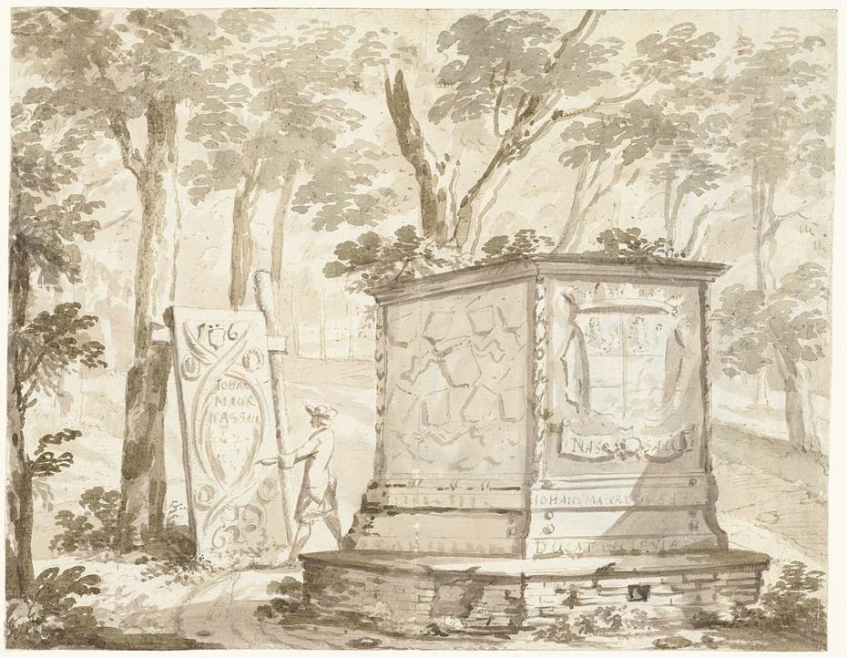 Graftombe van Johan Maurits van Nassau-Siegen te Kleef