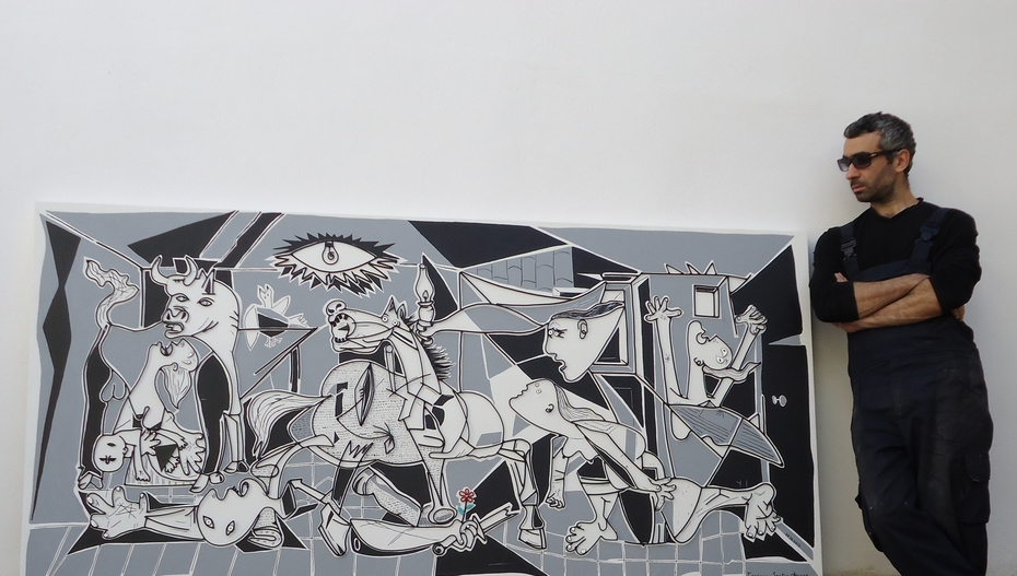 Guernica..my version...wire