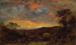 Harvest Home, Sunset: The Last Load