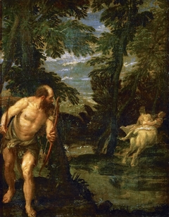 Hercules, Deianira and the Centaur Nessus