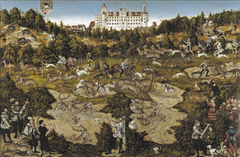 Hunt at the Castle of Torgau in honour of Charles V