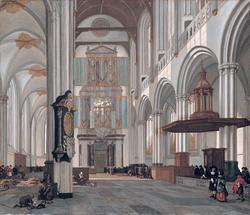 Interior of the Nieuwe Kerk, Amsterdam