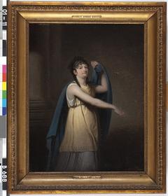 Joanna Cornelia Ziesenis, née Wattier, as Epicharis in the Play of that name by G M J B Legouvé