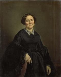 Johanna Christina Beelenkamp (1820-90). Wife of Cornelis Outshoorn