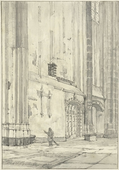 Kerkinterieur (Dom te Utrecht?)
