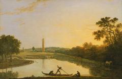 Kew Gardens: The Pagoda and Bridge