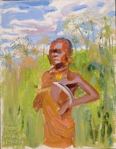 Kikuyu in Papyrus Reeds