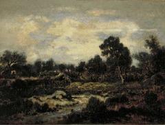 Landscape near Fontainebleau