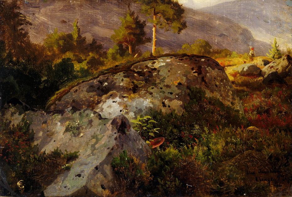 Landscape Study from Vågå