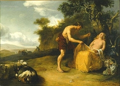 Landscape with a Shepherd and a Sleeping Shepherdess