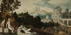 Landscape with Bathsheba