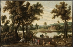 Landscape with Gentlefolk and Gypsies