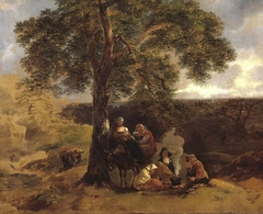 Landscape with Gipsies