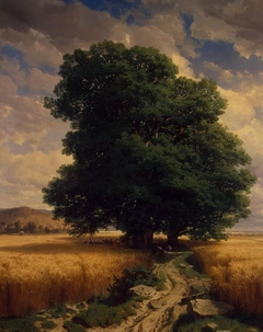 Landscape with Oaks