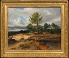 Landscape with Sandpit in the Fontainebleau Forest