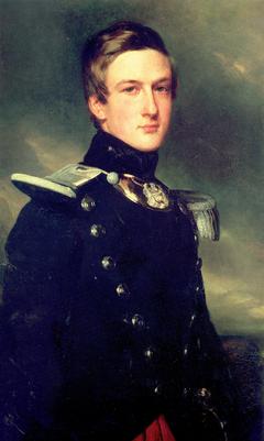 Le duc d'Aumale en chef de bataillon du XVIIe léger