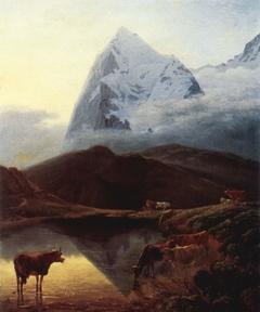 Le Grand Eiger vu de la Wengernalp