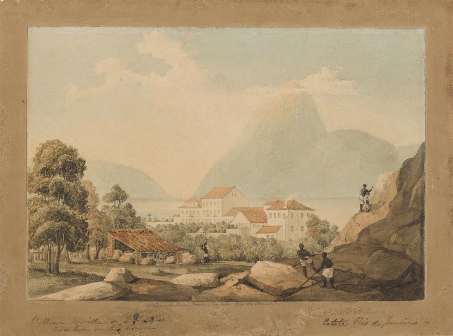 M. Chamberlains House. Catete. Rio de Janeiro