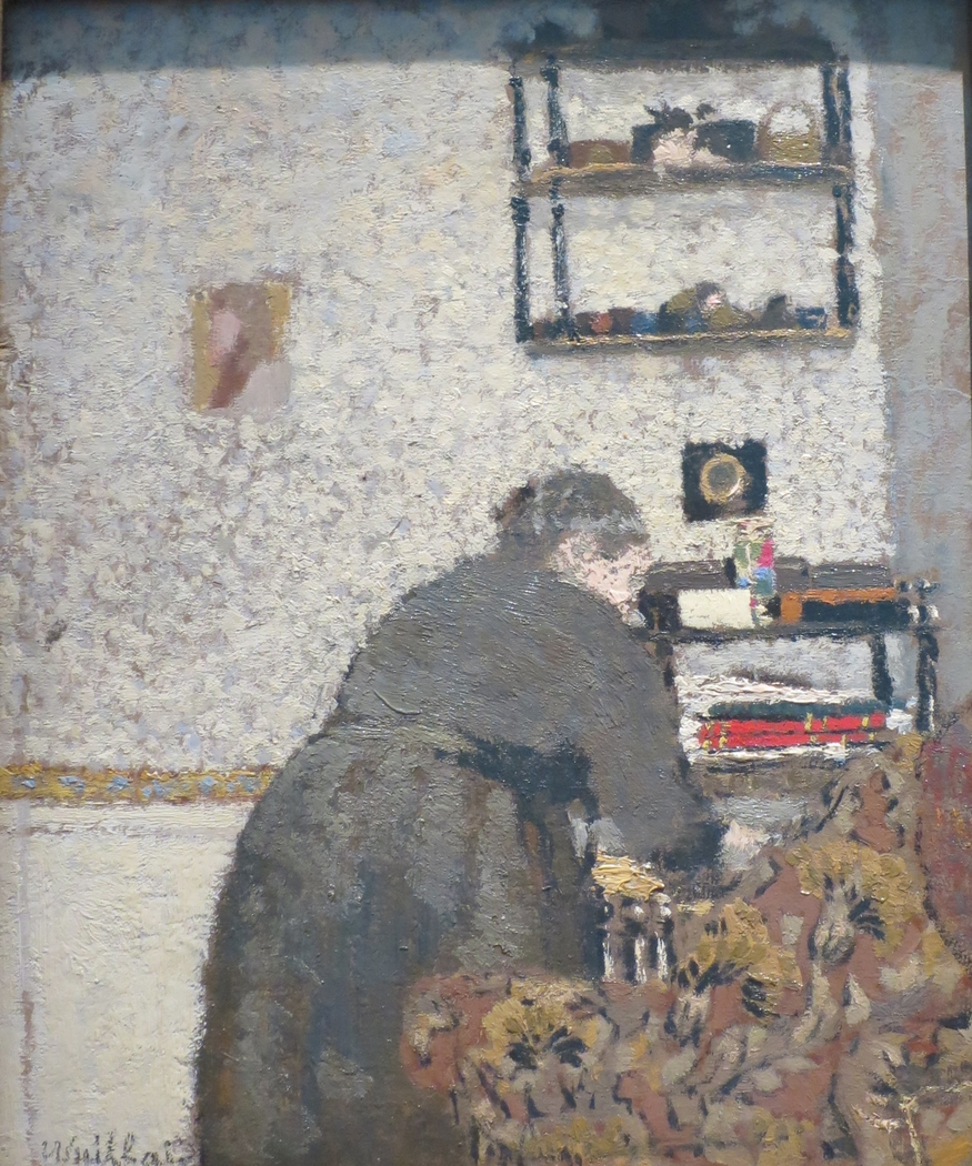 Madame Vuillard in a Drawing Room