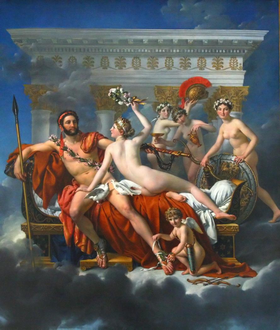 Mars Being Disarmed by Venus