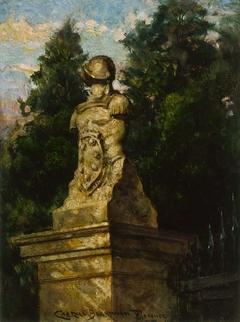 Modigliani Gate Post