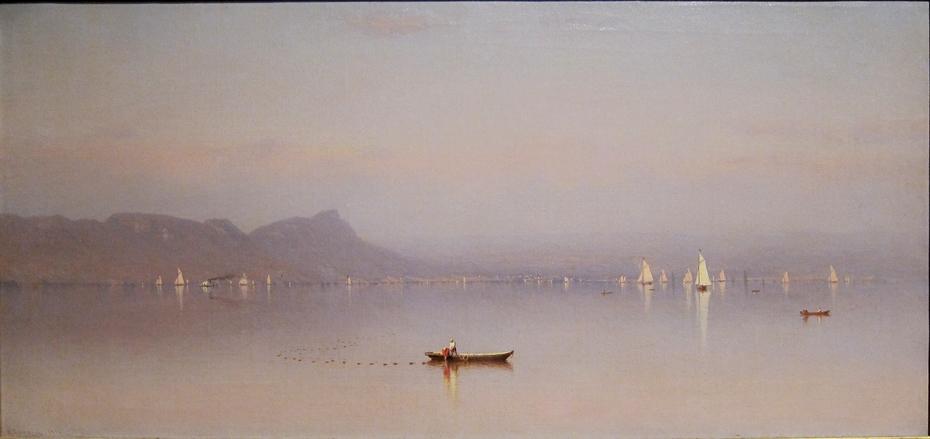 Morning in the Hudson, Haverstraw Bay